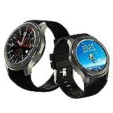 Tlgf Smart Watch Mobile Phone WiFi Herzfrequenz-Schritt Prognose Wettervorhersage GPS Positionierung Android Quad-Core Prozessor Sports Smartwatch