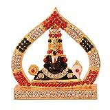 #8: Purpledip Hindu Religious God Tirupati Balaji Miniature Statue Idol For Car Dashboard, Shop Counter/Shelf, Or Office Table (10993)