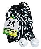 Second Chance Titleist 24 Balles de golf de récupération Qualité supérieure Grade B
