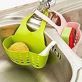 EQLEF® Esponja de almacenamiento caja del estante del tambor de lavado paño higiénico jabón de cocina estantería Organizador: artículos y objetos Accessoriesne fregadero Estanterías Bolsa