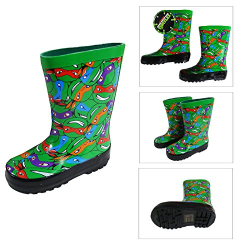 Teenage Mutant Ninja Turtles ,  Herren Wellington-Schuhe Ninja Schildkröte Grün