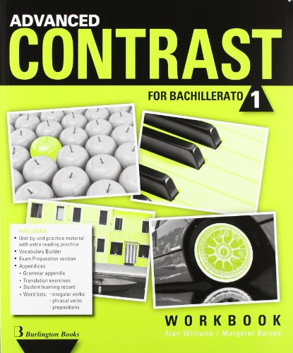 Advanced Contrast For Bachillerato 1. Workbook - 9789963488667 por Vv.Aa.