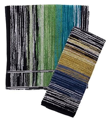 Missoni Home Asciugamani da bagno 1+1 STANLEY MULTICOLOR (Missoni Multi Color)