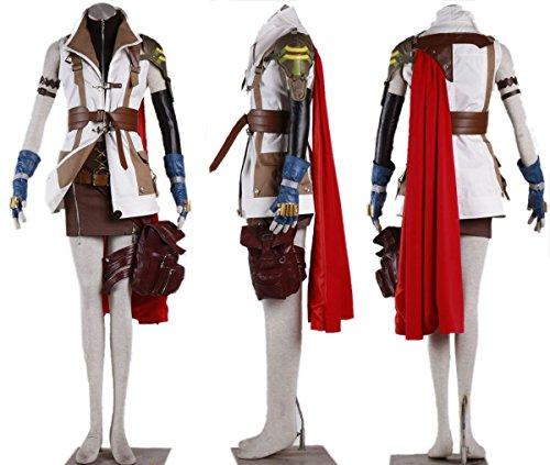 Lightning Cosplay Outfit Anzug Kleidung Kostüm Anime Halloween Karneval Cosplay ()