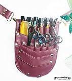 BARBER & personale e porta-attrezzi, con chiusura a clip, borse, Mac Professional Hair Dressers Fondina porta forbici multiuso, per utilizzo professionale e Mac-171,173,174 Professional