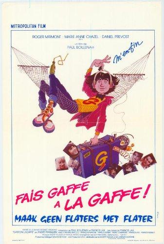 Fais gaffe à la gaffe Plakat Movie Poster (11 x 17 Inches - 28cm x 44cm) (1981) Belgian