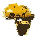 Posterlounge Stampa su PVC 80 x 80 cm: Wild Africa di Editors Choice