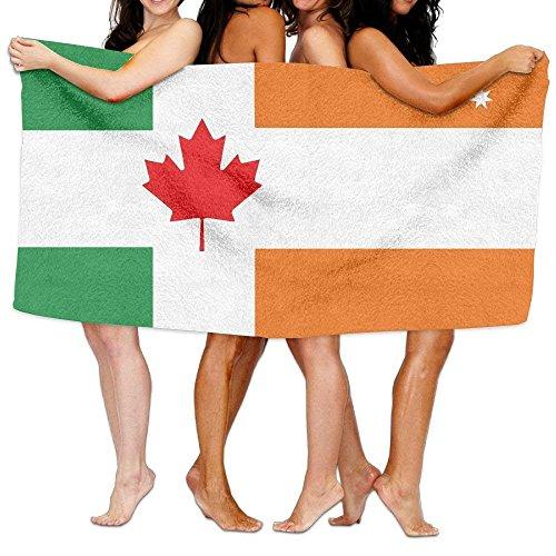 XIEXING Toalla baño Flag of Canada Norwegian Australian
