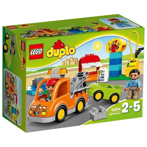 LEGO-10814-DUPLO-Town-Tow-Truck-Mixed
