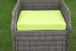 Coussin pour mobilier de jardin coussin d 39 assise pour for Coussins pour fauteuil de jardin