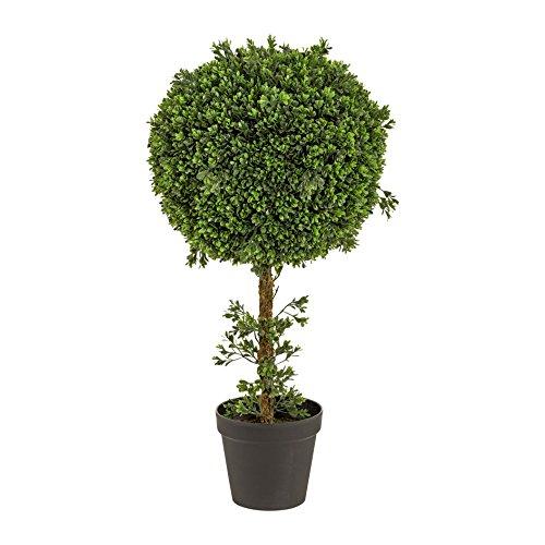 Kunstpflanze Traumhaft schöner Buchsbaum in Kugelform in beeindruckender Größe