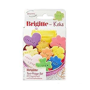 Brigitte-Keks - Präge-Set