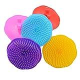 Kopfhaut Dusche Körper Waschen Haare waschen Massagebürste Massagekamm Farbe zufällig