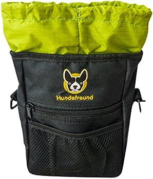 Pochette à friandises pour chien | Sac à friandises 4 en 1 avec ceinture, clip ceinture, boucles de ceinture et bandoulière | Pochette avec 4 compartiments de haute qualité