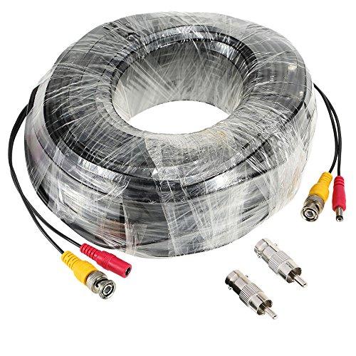 KKmoon 98ft (30m) BNC Video Power siamesischen Kabel f¨¹r ¨¹berwachungskamera DVR-Kit