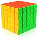 #3: SUPER DEAL BAZZAR STORE Stickerless 5X5X5 Wind Speed Rubik's Cube Puzzle - (Pack of 1)