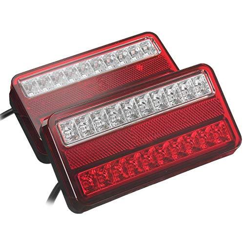 Preisvergleich Produktbild LED Anhänger Rückleuchte Rücklicht Set Rückleuchten PKW Landmaschinen PKW-Anhänger Wohnwagen Leuchte Blinklicht E11