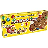 Lacasitos Crujiente de Chocolate con Lacasitos Turrón - 200 gr - [Pack ...