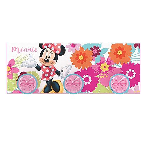 Stor Portemanteau pour enfant | MINNIE MOUSE BLOOM - Disney - Dimensions: 40 x 15 cm. - Plusieurs modèles