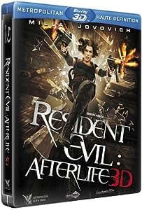 Resident Evil : Afterlife 3D [Blu-ray 3D - Édition boîtier SteelBook]