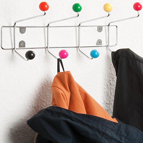 Wandgarderobe Wandhaken Kleiderhaken Kindergarderobe Garderobe Hakenleiste Garderobenleiste