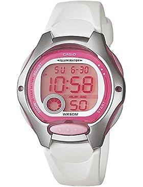 Casio Damen-Armbanduhr XS Digital Quarz Kautschuk LW-200-7AVDF