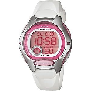 Casio LW-200-7A – Reloj de Cuarzo para Mujer, con Correa de Goma,