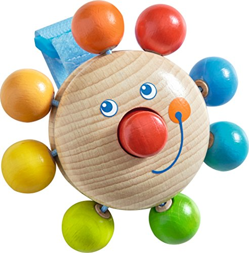 Haba 301959 Buggy-Spielfigur Clown, Kleinkindspielzeug