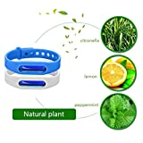 IGEMY Anti Mosquito Pest Insect Bugs Repellent Repeller Wrist Band Bracelet Wristband (White)