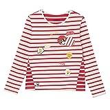 Chipie EMBELLIE, Camiseta para Niñas, Rojo (Vermillon 36), 8 años (Tallas De Fabricante: 8A)