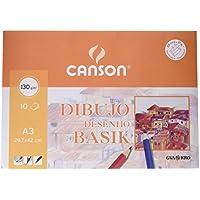 Canson 403159 - Papel para dibujo, 10 hojas