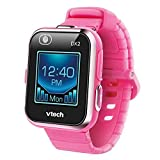 VTech Kidizoom Smart Watch DX2 - Reloj inteligente para niños con doble cámara, color rosa (3480-193857)