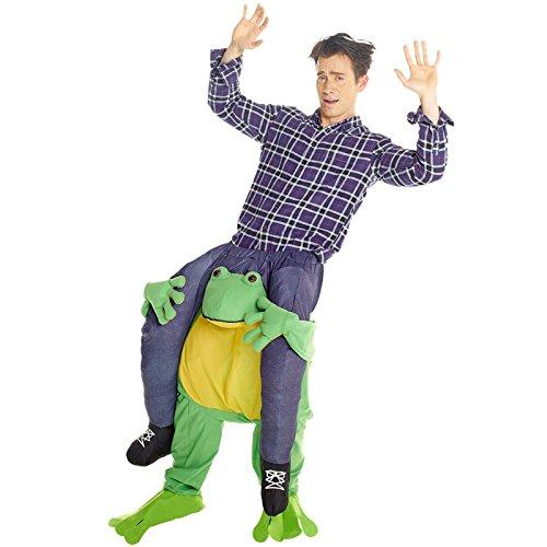 Morph MCPBF - Frosch Huckepack Kostüm - Uni Größe