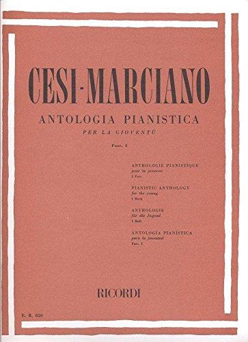 Antologia pianistica cesi marciano fascicolo i