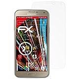 atFolix Panzerschutzfolie für Samsung Galaxy S5 Neo (G903F) Panzerfolie - 3 x FX-Shock-Antireflex blendfreie stoßabsorbierende Displayschutzfolie