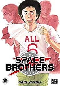 """Afficher """"Space brothers n° 18<br /> Space brothers t18"""""""