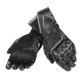 Dainese-CARBON D1 LONG Handschuhe, Schwarz/Schwarz/Schwarz, Größe XL