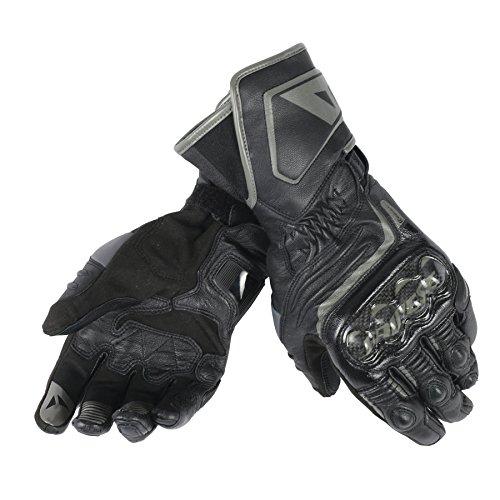 Dainese-CARBON D1 LONG Handschuhe, Schwarz/Schwarz/Schwarz, Größe M