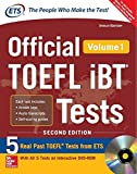 #5: Official TOEFL ibT - Vol. 1 (With DVD)
