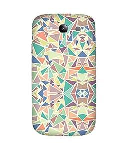 Pastel Triangles Samsung Galaxy S3 Case
