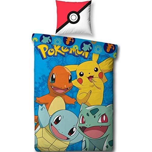 Pokemon 'Generation' Bed Linen-100% Cotton 14060x70cm