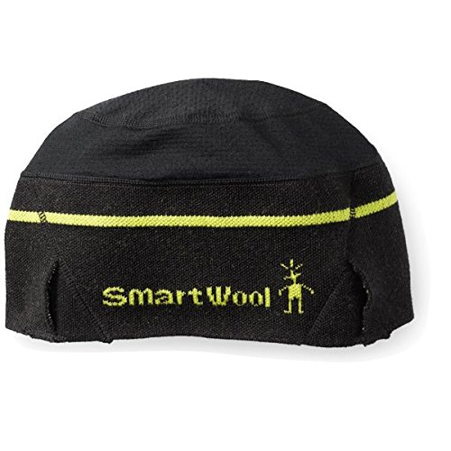 Smartwool PhD Nordic Training Beanie Hat, Schwarz, One size (Nordic Knit Hat)
