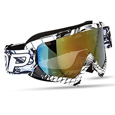 Fodsports Motorcycle Riding Glasses Man/Women Motocross Goggles Glasses Ware MX off Road Helmets Goggles Sport Gafas for Motorcycle from Fodsports