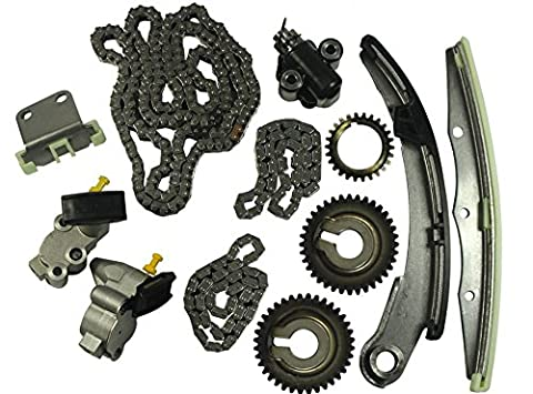 GOWE Timing Chain Kit Fit For 04-09 Nissan Altima Maxima Quest 3.5L V6 DOHC 24v VQ35DE