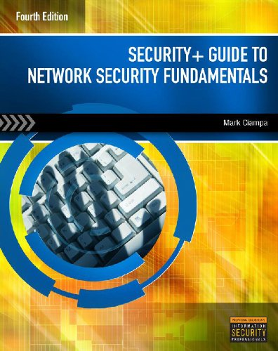 Lab Manual For Security Guide To Network Security Fundamentals 4th Edition