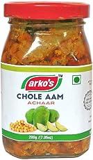 Arkos Homemade Chole Aam Pickle, 200g