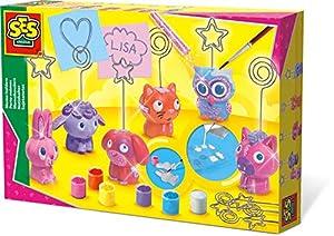 SES Creative Sujetanotas SES - Kits de Pintura y Modelado para niños (6 Pieza(s), Multi, 5 año(s), 300 mm, 40 mm, 200 mm)