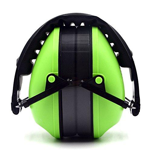 Preisvergleich Produktbild Gehörschutz mit gepolsterter Kopfbügel bequem und CE-geprüft entspricht für Shooting/Jagd Gehörschutz, grün