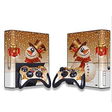 XBOX_Zubehör_ Xbox 360 Konsole Schutzaufkleber Deckhaut Controller Hautaufkleber