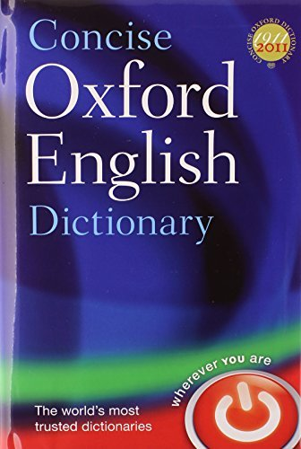 Concise Oxford English Dictionary: Book & CD-ROM Set by Oxford Dictionaries (2011-09-02)